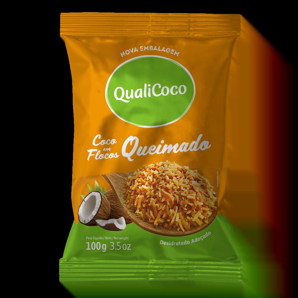 Coco Ralado Queimado