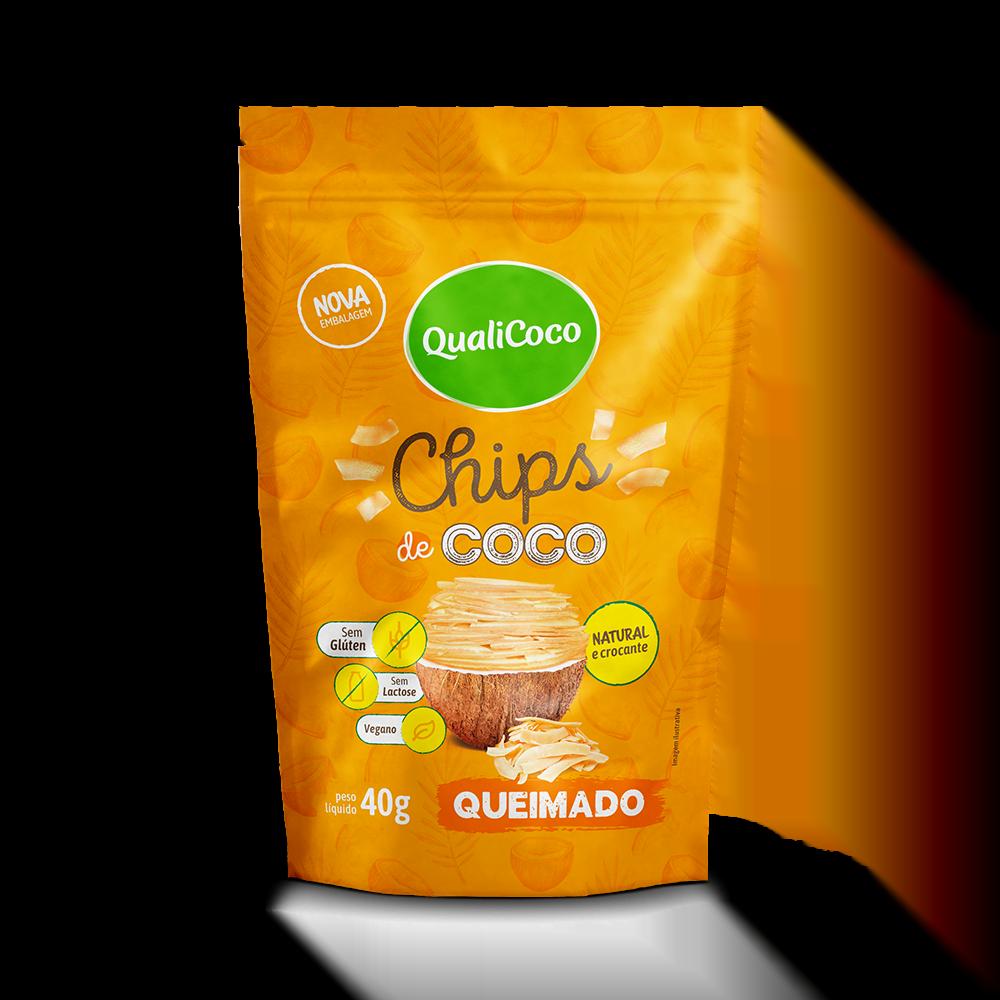 Chips de Coco Queimado
