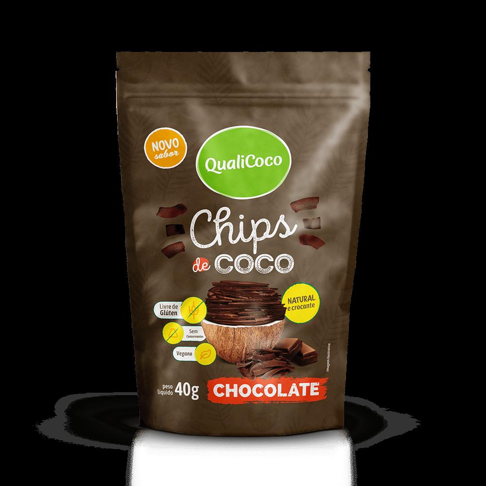 Chips de Coco Chocolate