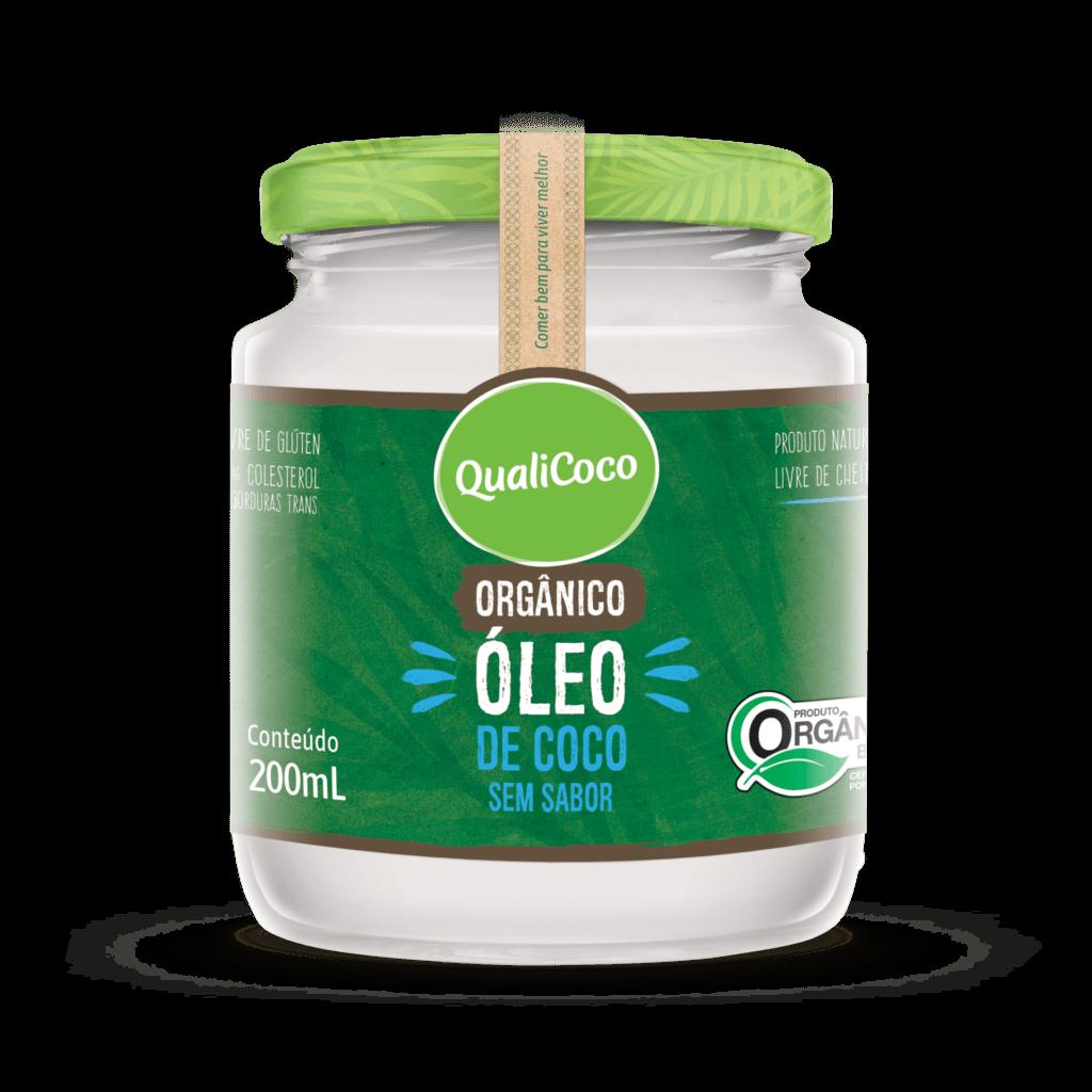 Óleo de Coco Sem Sabor Orgânico
