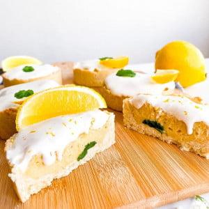 Mini tortinha de limão