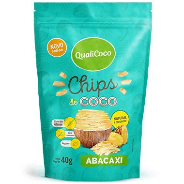 Chips de Coco Abacaxi