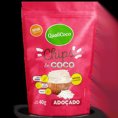 Chips de Coco Adoçado